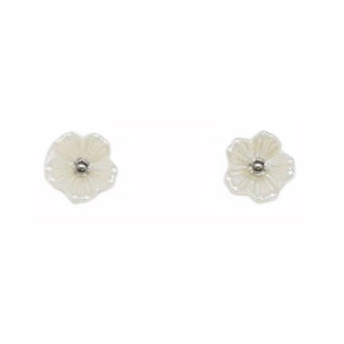 Stainless Steel And Resin Ear Studs (SES42S)