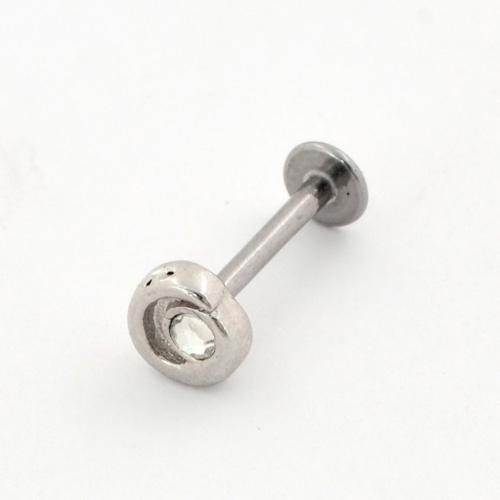 Surgical Steel Ornate Design Labret (PFJR758)