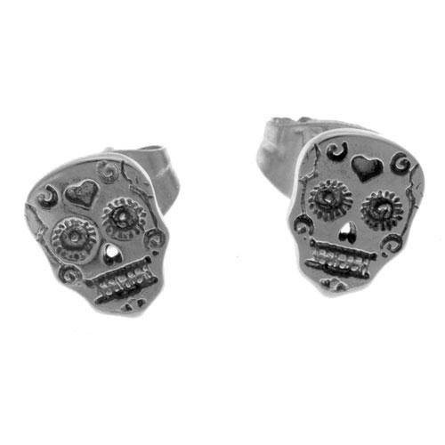 Herspirit Sugar Skull Rock Earring (HSESK)