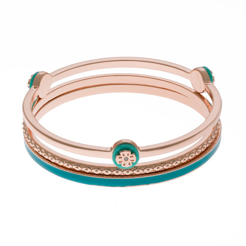 Herspirit Rose Gold Triple Bangle (HSB800-B)
