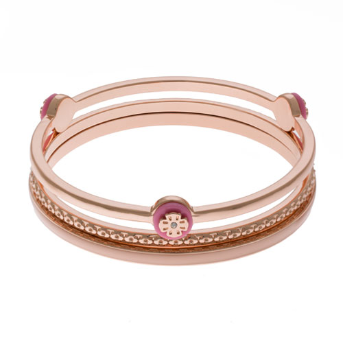 Herspirit Rose Gold Triple Bangle (HSB800-P)