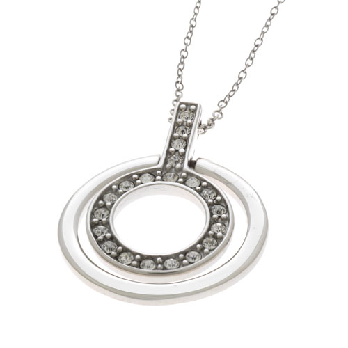 Herspirit Classique 2 Circle Pendant And Chain (HSN068)