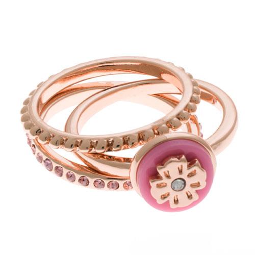 Herspirit Rose Gold Triple Ring (HSR18034-P)