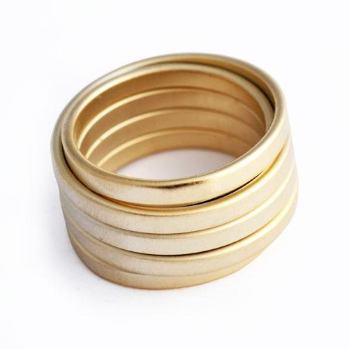 Herspirit Tortile Fashion Ring (HSR81-G)