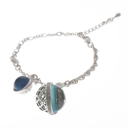 Herspirit Fashion Charmed Blue Sphere Bracelet (HSB398-A)