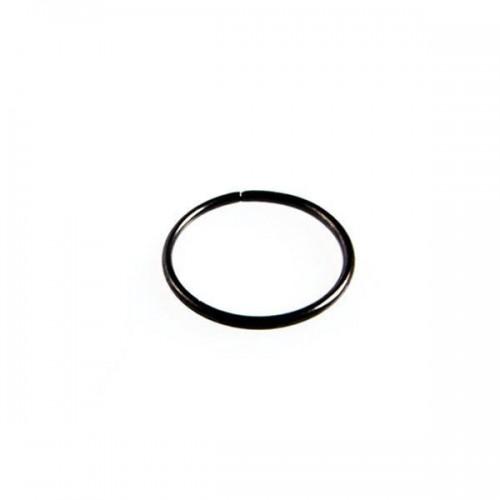 Black PVD Coated Steel Seamless Twist Rings (PFBSR*)