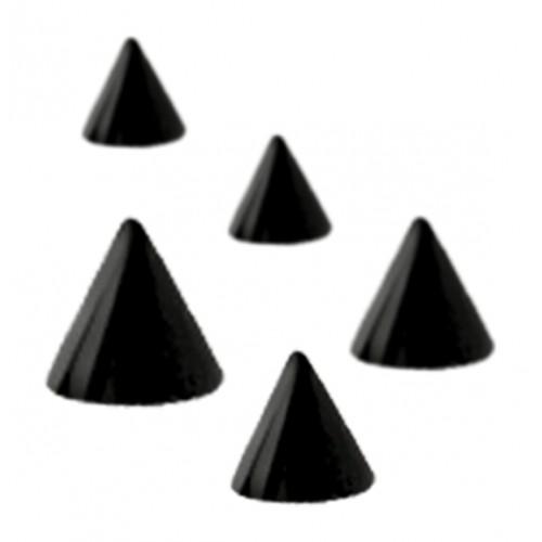 Titanium Nightcote Threaded Cones (NCTSPK)