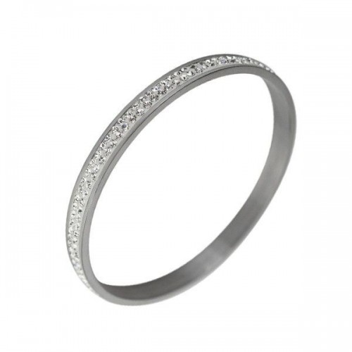 Herspirit Bangle with Clear Stones (HSB12/CLEAR)