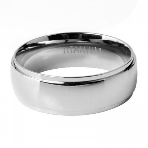 Titanium Men's Ring (ISTR83)