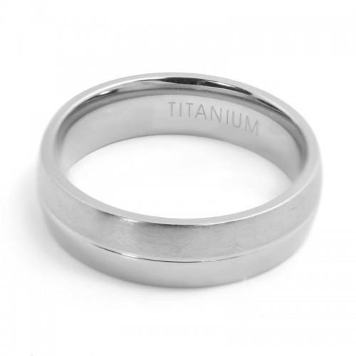 Titanium Men's Ring (ISTR98)