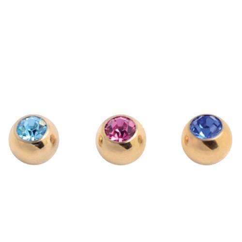 Titanium Suncote Jewelled Balls (SCT85)