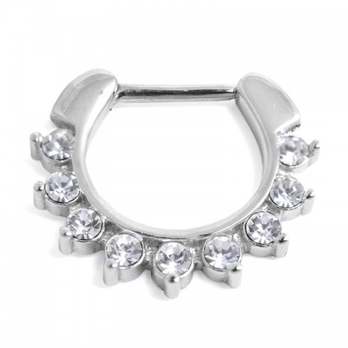 Jewelled Septum Ring (SR-03)